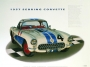 1957 SEBRING CORVETTE - unframed with proof of artist