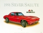 1966 CORVETTE RALLY-RED - unframed with proof of artist