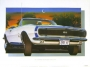 1967 CAMARO SS/RS INDY PACE CAR - unframed with proof of artist