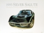 1968 CORVETTE TUXEDO-BLACK - framed with proof of artist