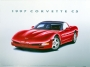 1997 CORVETTE C5 - unframed with proof of artist