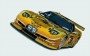 THE LAST CORVETTE DALE EARNHARDT RACED - 21 1/4