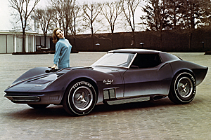 Mako Shark II - Image Courtesy of General Motors Archive